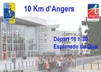 10 km d'Angers