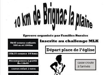 Photo de 10 km de Brignac 2020, Brignac-la-Plaine (Corrèze)