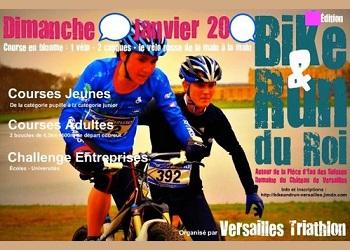 Bike & Run du Roi, Versailles