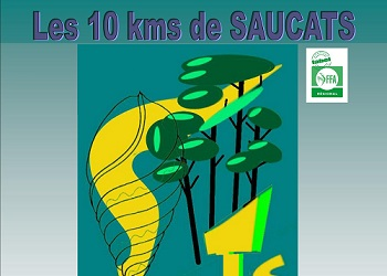 Photo de 10 km de Saucats 2021 (Gironde)