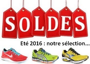 Soldes running été 2016 : notre sélection