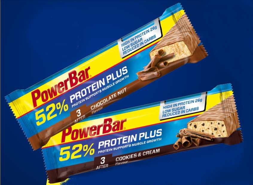 PowerBar Protein Plus : pour une récupération optimale