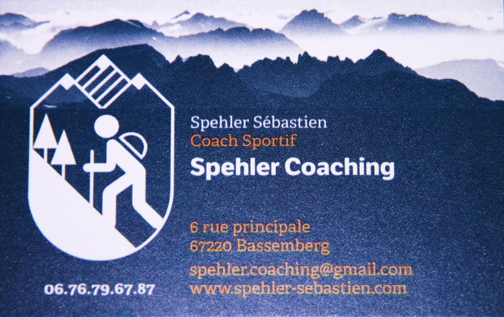 Sébastien Spehler, coach sportif