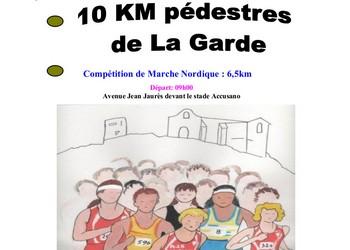 10 km de La Garde