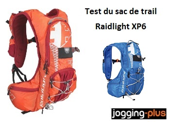 Test du sac de trail Raidlight XP6 par Jogging-Plus