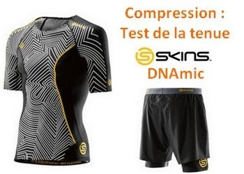 Compression : test de la tenue SKNIS DNAmic