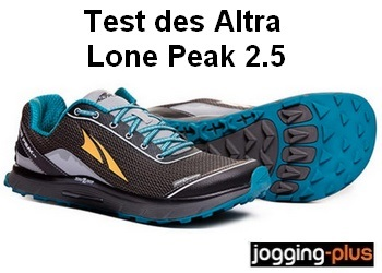 Test des Altra Lone Peak 2.5 par Jogging-Plus