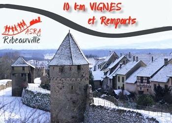10 km Vignes et remparts