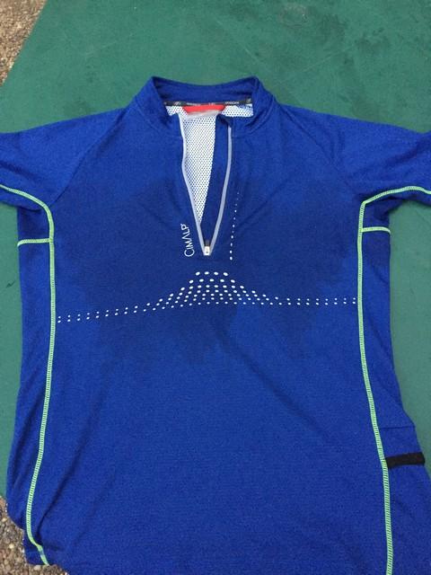 T-shirt trail Cimalp 3D-Flex Perfect et T-shirt course Cimalp 1/2 Zip: