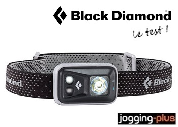 Test de la lampe frontale Black Diamond Spot par Jogging-Plus