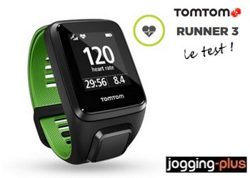 Test de la Tomtom Runner 3 par Jogging-Plus.com