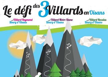 Défi des 3 Villards en Oisans