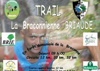 Trail de La Braconnienne Briaude