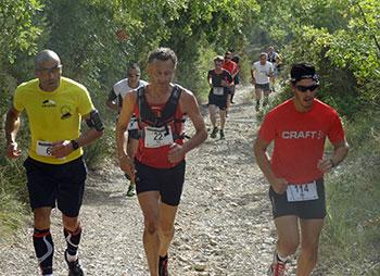 Trail Volx en course