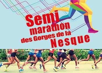 Semi-marathon des Gorges de la Nesque