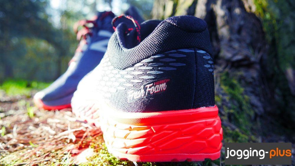 Test des New Balance Hierro v2, chaussures de trail, par Jogging-Plus.com