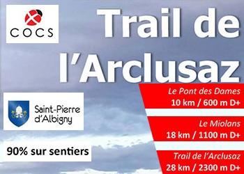 Trail de l'Arclusaz