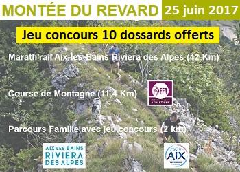 10 dossards Montée du Revard 2017 (Savoie)