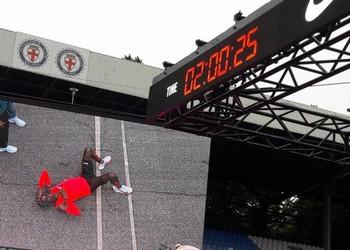 Nike Breaking2 - marathon en moins de 2 h : échec de peu !