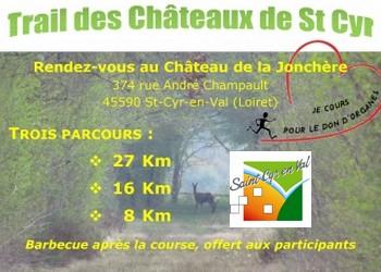 Trail des Châteaux de Saint-Cyr