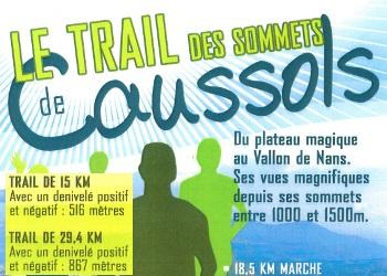 Trail des sommets de Caussols