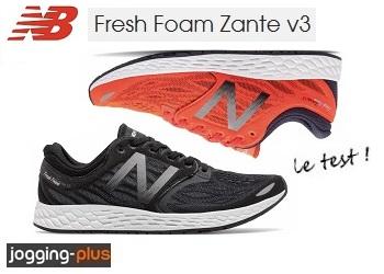 Test des New Balance Zante, chaussures de running, par Jogging-Plus