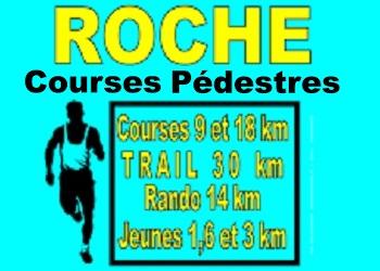 Trail rochois, Roche (Isère)