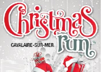 Christmas Run, course des pères Noël, Cavalaire-sur-Mer (Var)