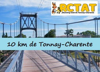 10 km de Tonnay-Charente