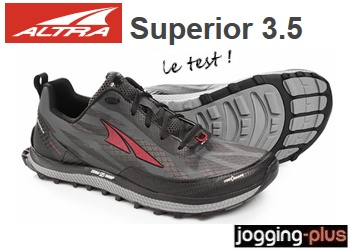 Test des Altra Superior 3.5, le top en zero drop