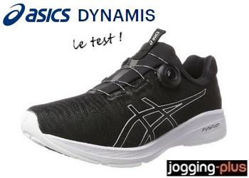 Test des Asics Dynamis avec laçage Boa : courez bien serré !