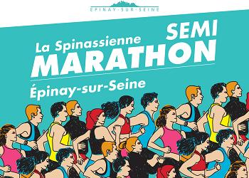 Spinassienne, semi-marathon d'Épinay-sur-Seine