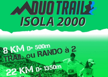 Duo Trail Mercantour Isola 2000