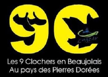 9 clochers en Beaujolais