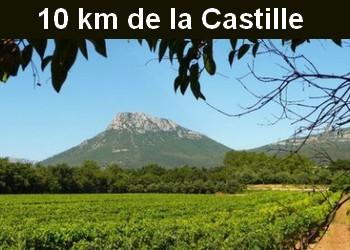 10 km de la Navarre