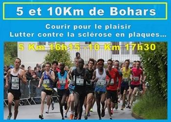 5 et 10 km de Bohars
