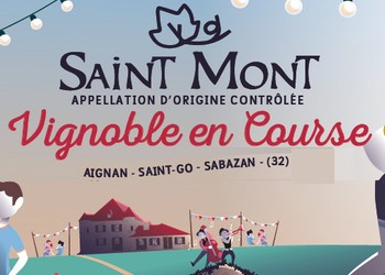 Saint Mont Vignoble en Course