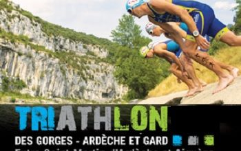 Photo de Triathlon des Gorges de l'Ardèche 2021, Saint-Martin-d'Ardèche