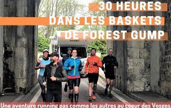 Photo de 30h dans les baskets de Forest Gump 2020, Nancy (Meurthe et Moselle)
