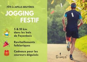 Jogging festif XRUN - Jupille