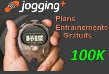 Plan entraînement 100 km Jogging-Plus