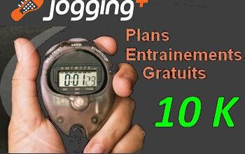 Plan entraînement 10 km Jogging-Plus