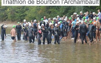 Photo de Triathlon de Bourbon l'Archambault 2019, Bourbon-l'Archambault (Allier)