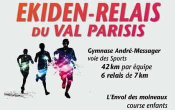 Photo de Ekiden du Val-Parisis, 10km, 5 km 2020, Taverny (Val d'Oise)