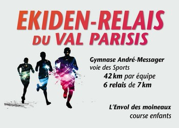 Ekiden du Val-Parisis, 10km, 5 km
