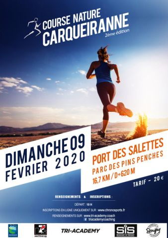 Course nature de Carqueiranne