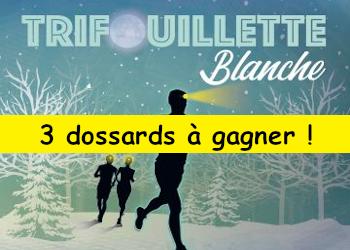 3 dossards Trifouillette blanche 2020 (Essonne)