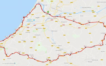 100 km du Pays Basque