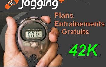 Plan entraînement marathon Jogging-Plus