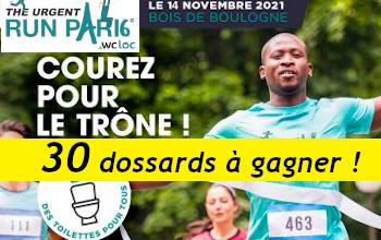 30 dossards Urgent Run Paris 2021 (Paris)